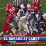 El Dorado wins 28-24 over Cabot