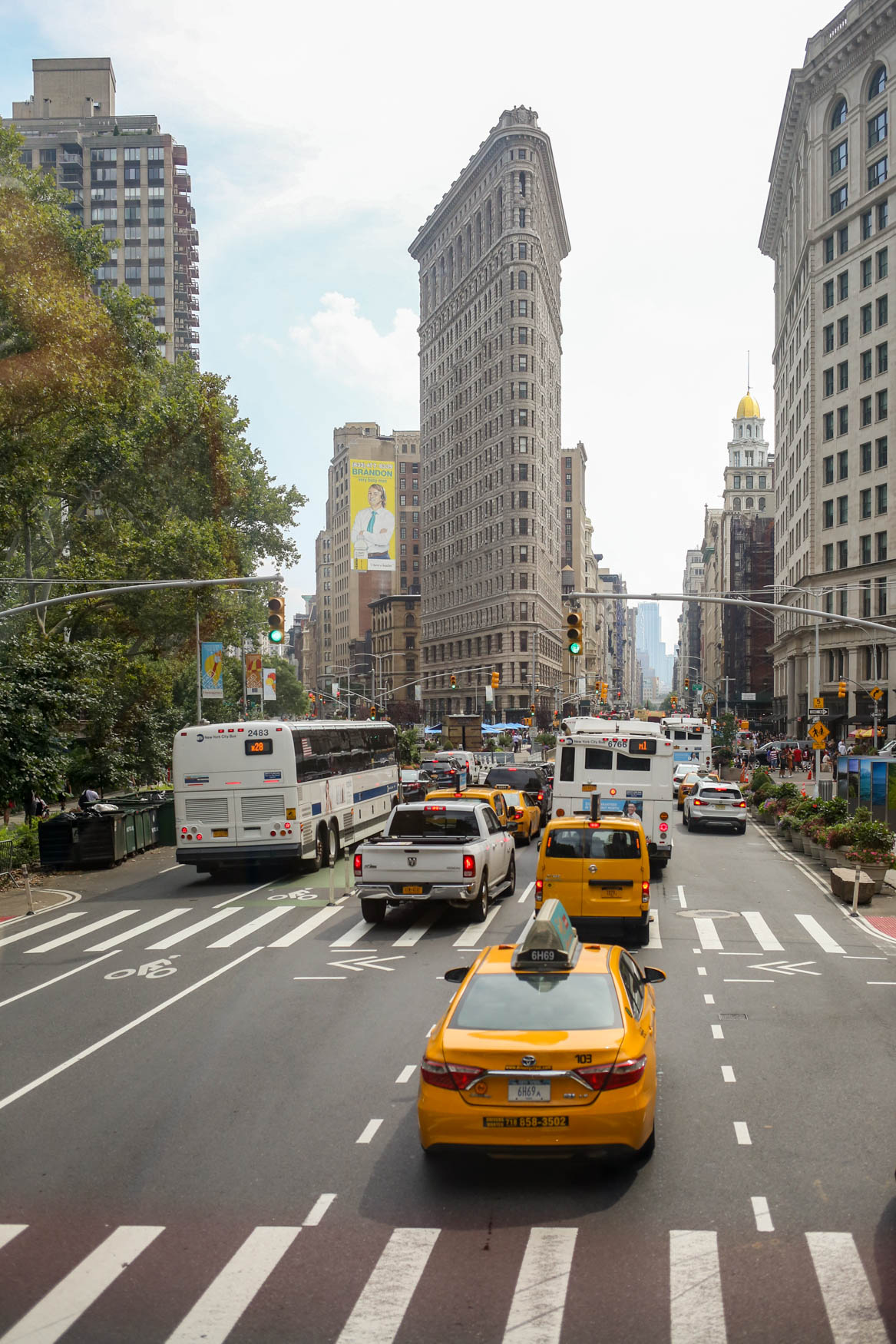 The view from a tour bus in Manhattan.{ }(Amanda Andrade-Rhoades/DC Refined)