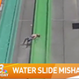 Boy thrown off water slide during California park's opening day