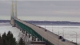 High wind warning issued for Mackinac Bridge