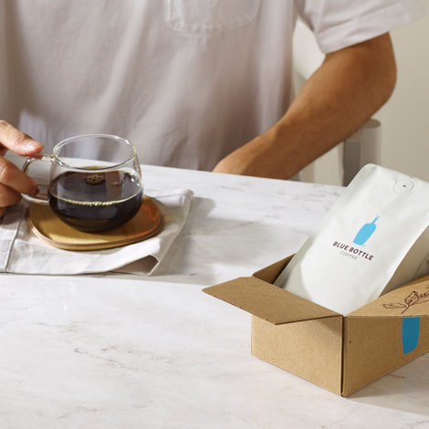 Send the coffee fanatic in your life a subscription to Blue Bottle Coffee blends, single origins, and espressos from sustainable coffee farms. Starting at $8 plus shipping. (Image: Blue Bottle Coffee)<p></p>