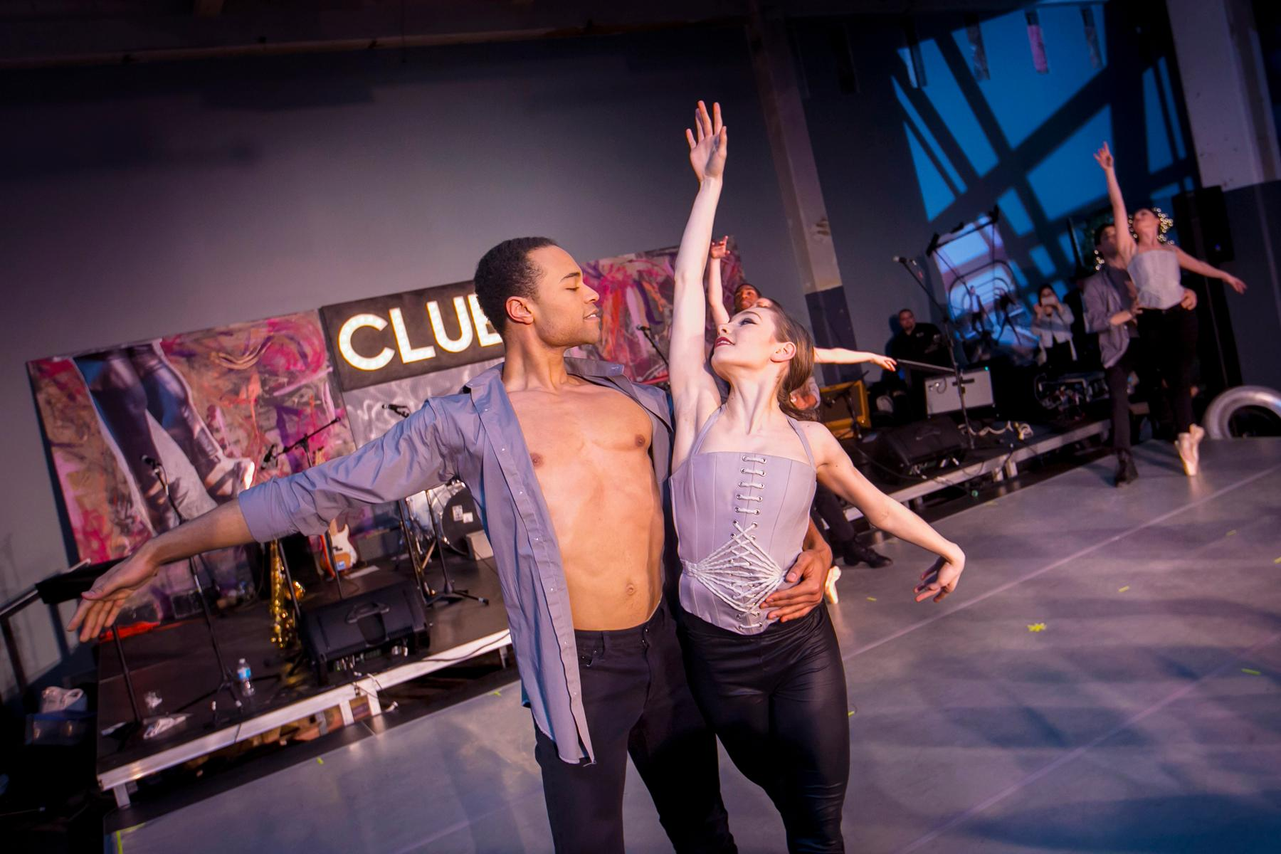 "Cincinnati Ballet hosted Club B (a.k.a. ""the hottest dance party of the year"") on Friday, April 7 at MadTree Brewery in Oakley. The night included dinner by the bite, open bar, live music, and plenty of dancing. / Image: Mike Bresnen Photography // Published: 4.8.17"