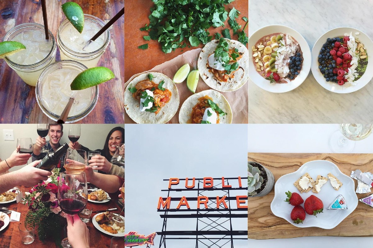 Lindsey Otta Zachary ( @lindseyotta ) does social for @allrecipes in Seattle so it's no wonder she is one of our go to places to see delicious food photos. Whether it is for home cooking or eating out in Seattle you should definitely follow her.  (All photos courtesy of @lindseyotta )