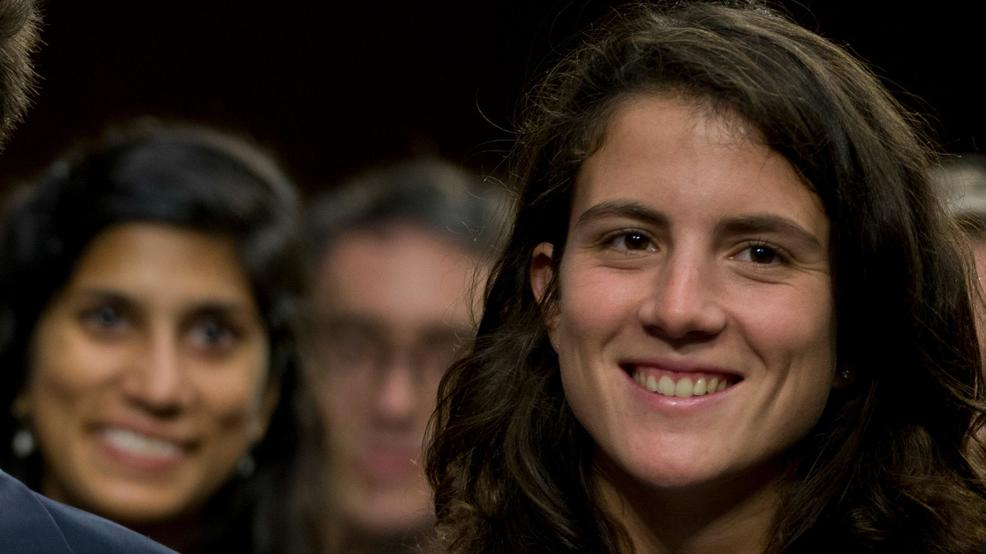 Jfks granddaughter tatiana schlossberg gets married wjla tatiana celia kennedy schlossberg attends the senate foreign relations committee nomination hearing on caroline kennedy of new york to be ambassador to altavistaventures Images