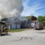 Father, daughter escape 2-alarm fire in Sanford, family cat dies