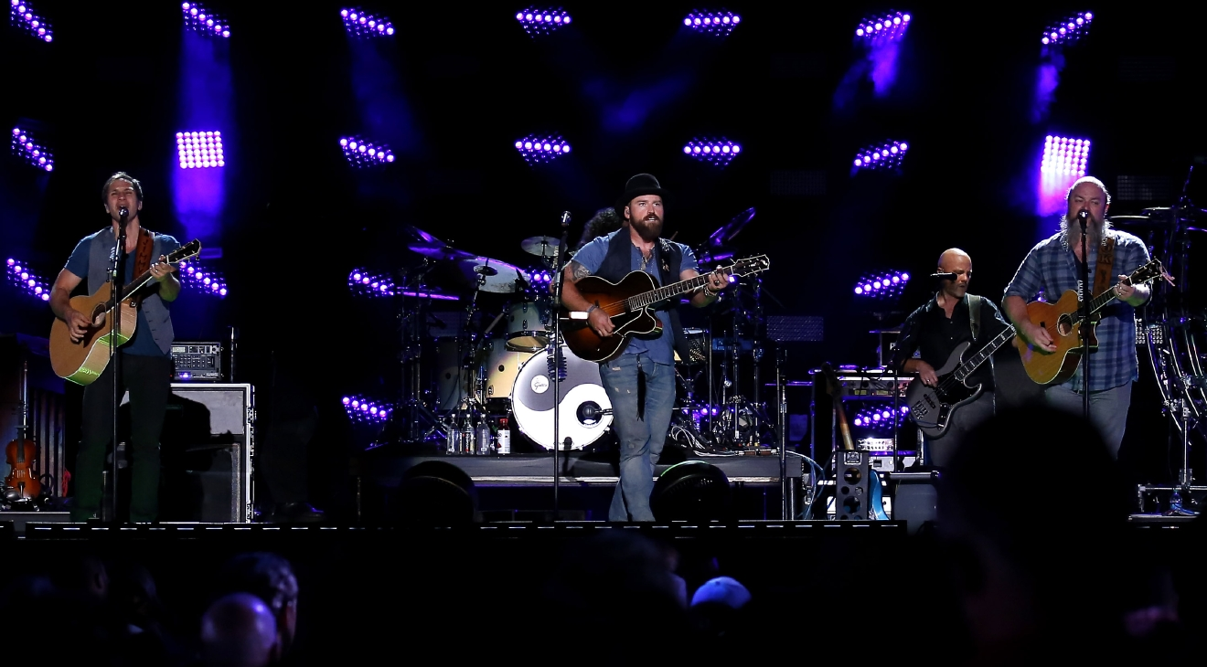 "Zac Brown Band will swing on by Jiffy Luve Live on July 19 for the ""Welcome Home 2017 Tour."" (Image: Judy Eddy/WENN.com)"