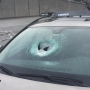 Five cars hit by rocks thrown from I-5 overpasses in Seattle