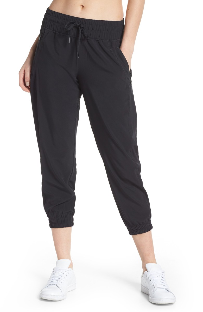 <p>Out and About 2 Crop Pants - $65.{&amp;nbsp;}Looking for a jumpstart to your workout wardrobe? Zella, a Nordstrom brand, has you covered. Find more info and buy online at shop.nordstrom.com/c/all-zella. (Image: Nordstrom)<br></p><p></p><p></p>