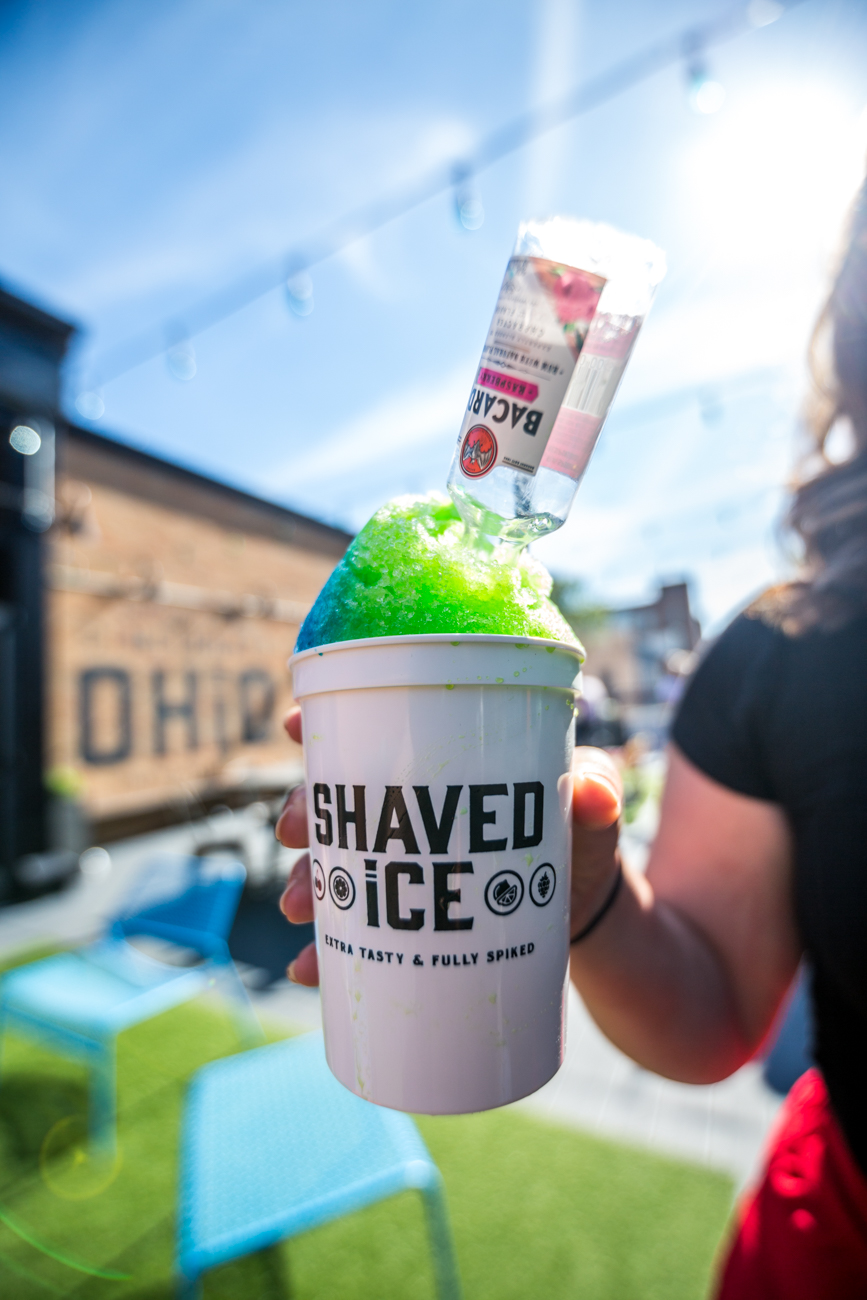 PLACE: Pins Mechanical Co / ADDRESS: 1124 Main Street (45202) / Pins' shaved ice is one of the best patio treats around. / Image: Catherine Viox // Published: 7.7.19