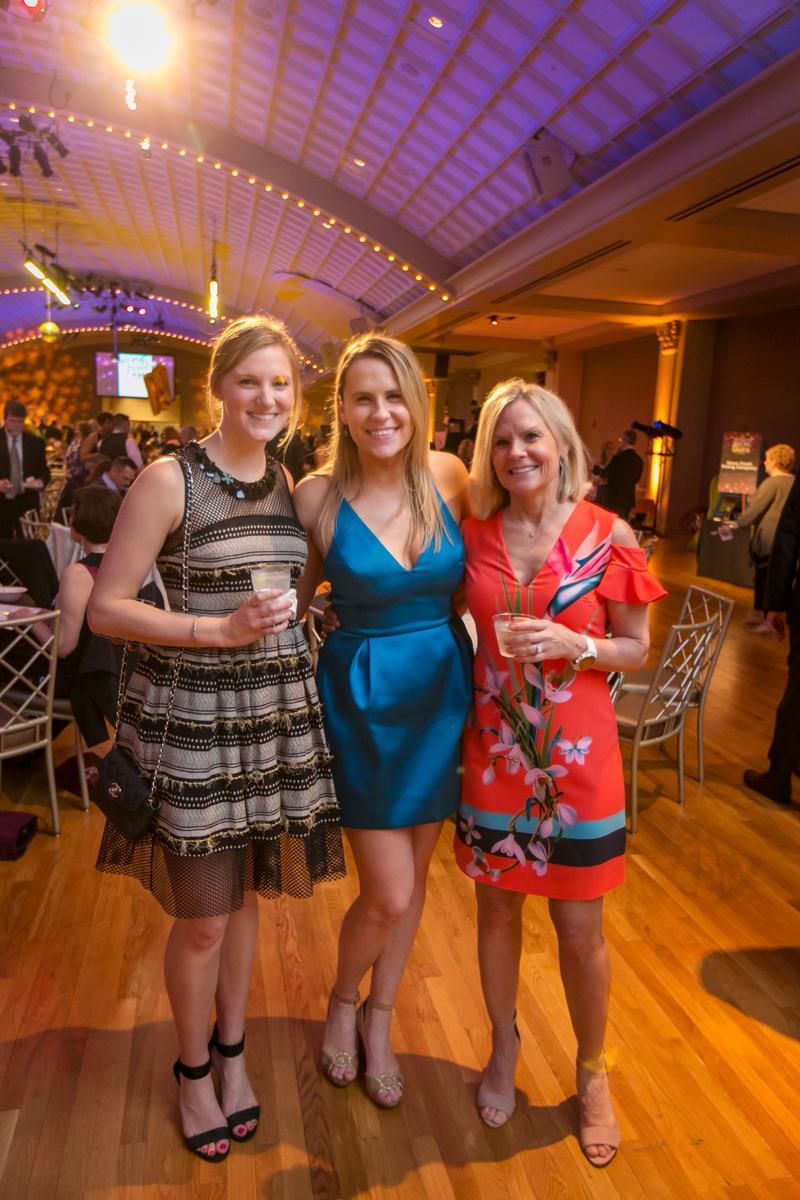 Christine Sower, Molly Nugent, and Joanne Nugent / Image: Mike Bresnen Photography