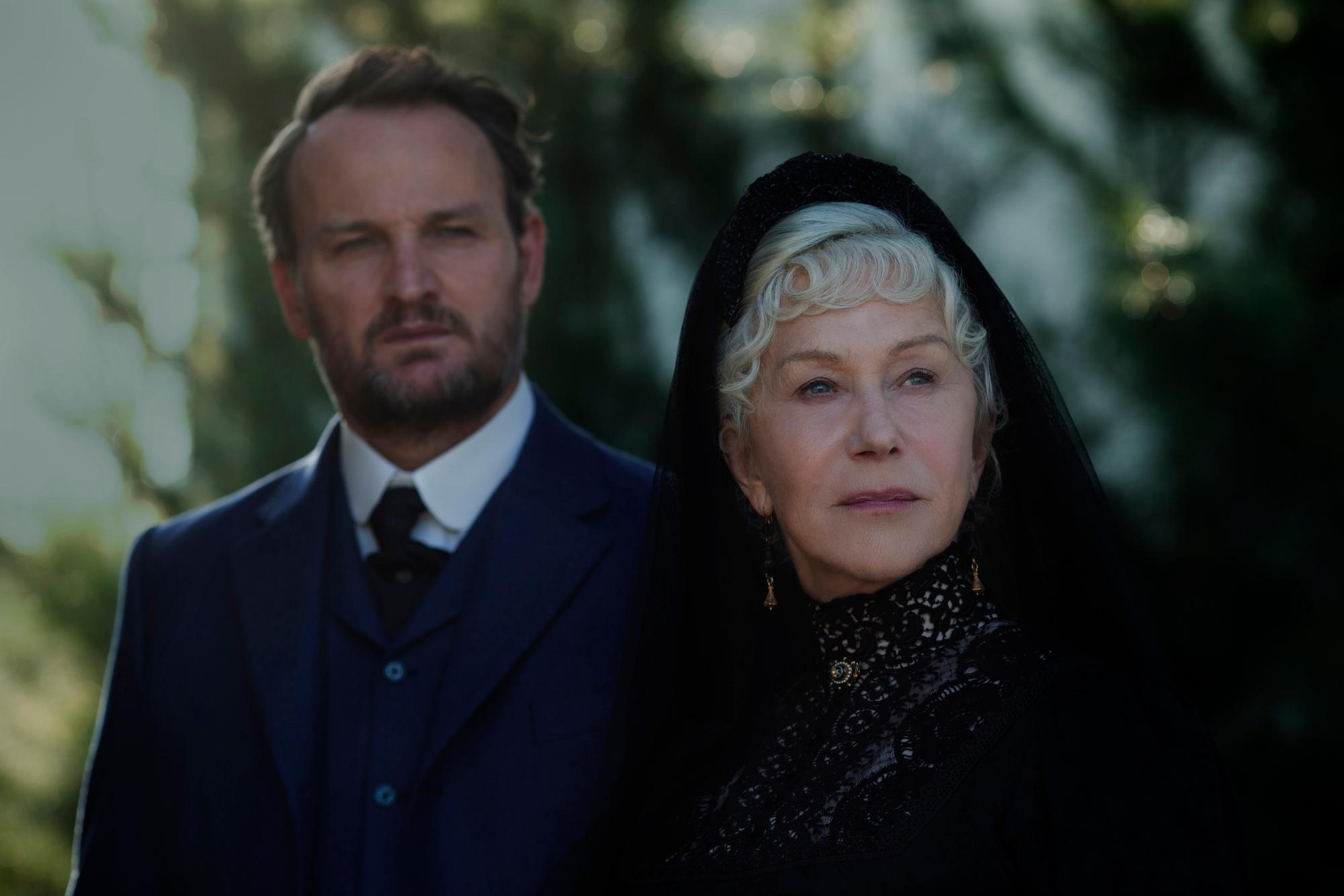 <p>Jason Clarke and Academy Award® winner Helen Mirren in WINCHESTER to be released by CBS Films and Lionsgate. (Photo: CBS Films)</p>