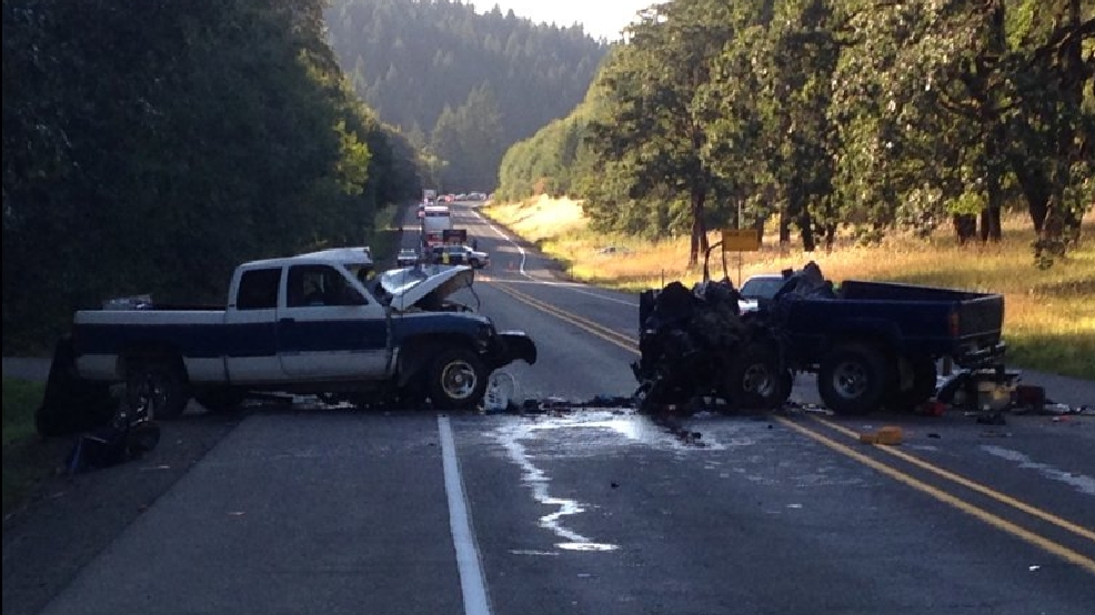 1 dead, 1 badly injured in head-on crash on Hwy 20 outside