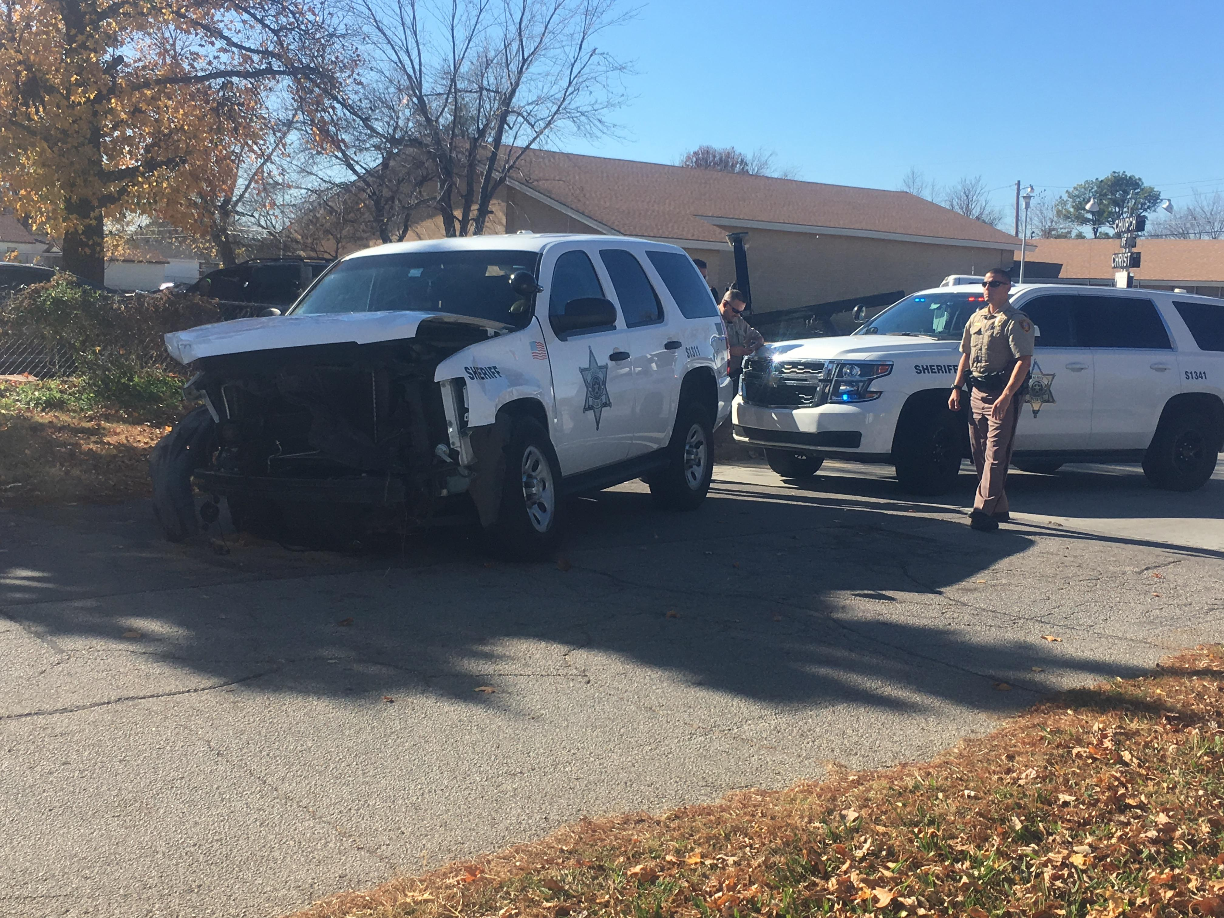 Tulsa County deputy taken to hospital after crash in west Tulsa (KTUL)