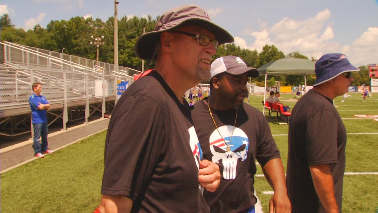 Roger Harris will be the offensive line coach at Madison this season, a season he's looking at with a fresh perspective -- because this opportunity almost didn't happen. (Photo credit: WLOS staff)
