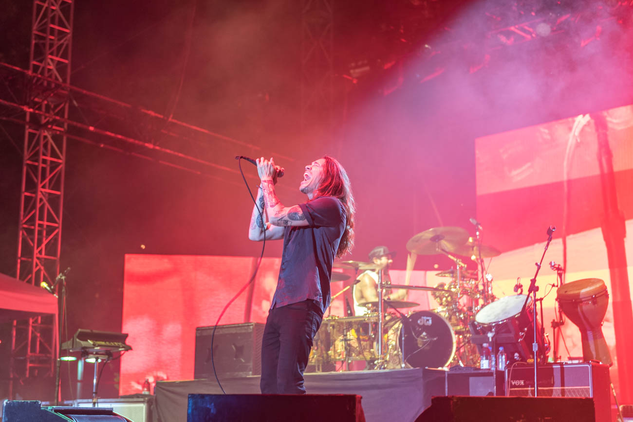 Incubus closing out the second night of Bunbury on Saturday, June 2. / Image: Mike Menke // Published: 6.3.18
