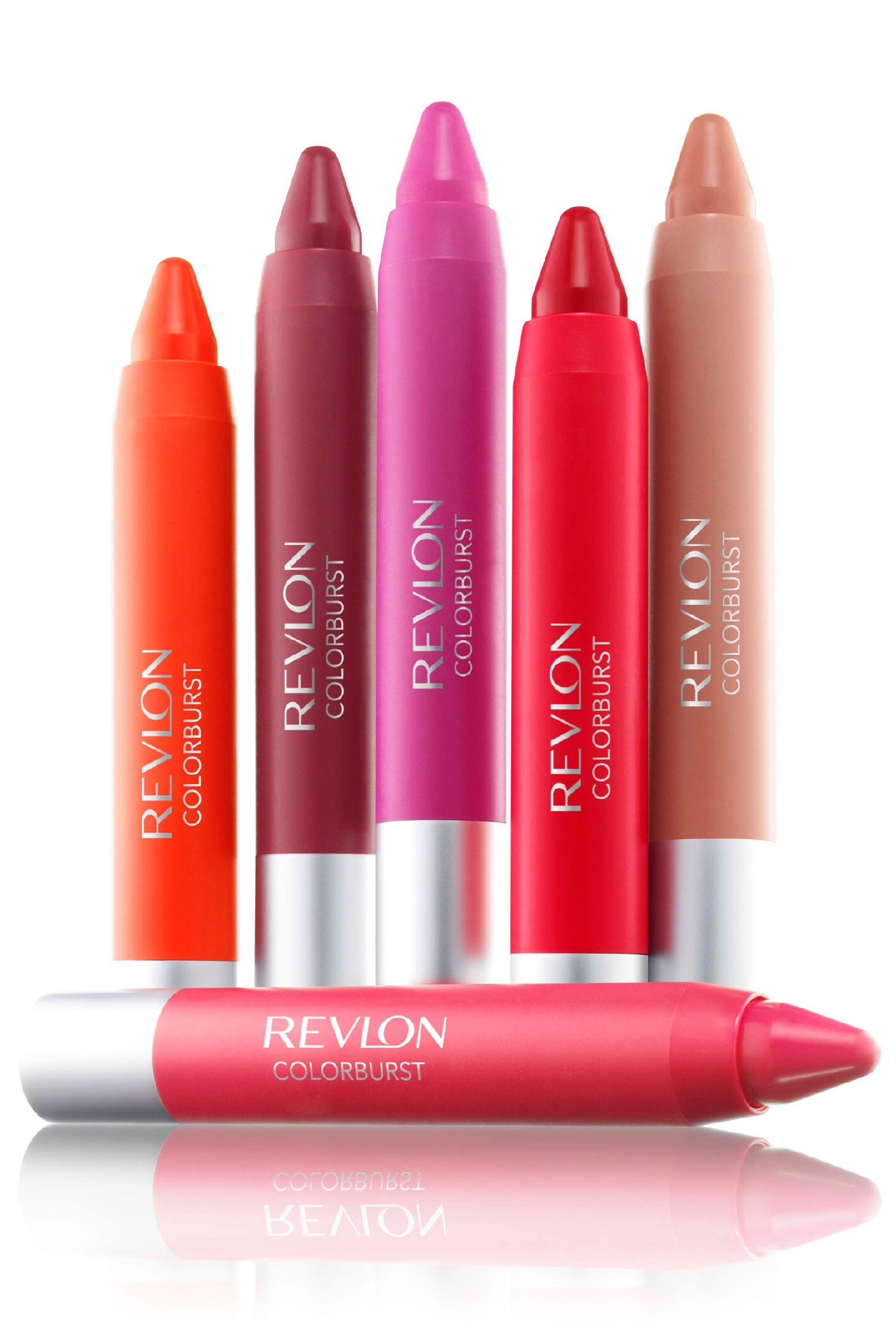 Revlon Colorburst Lip Balm ($9).  There's a ton of color options and they last.    (Image: Pinterest)