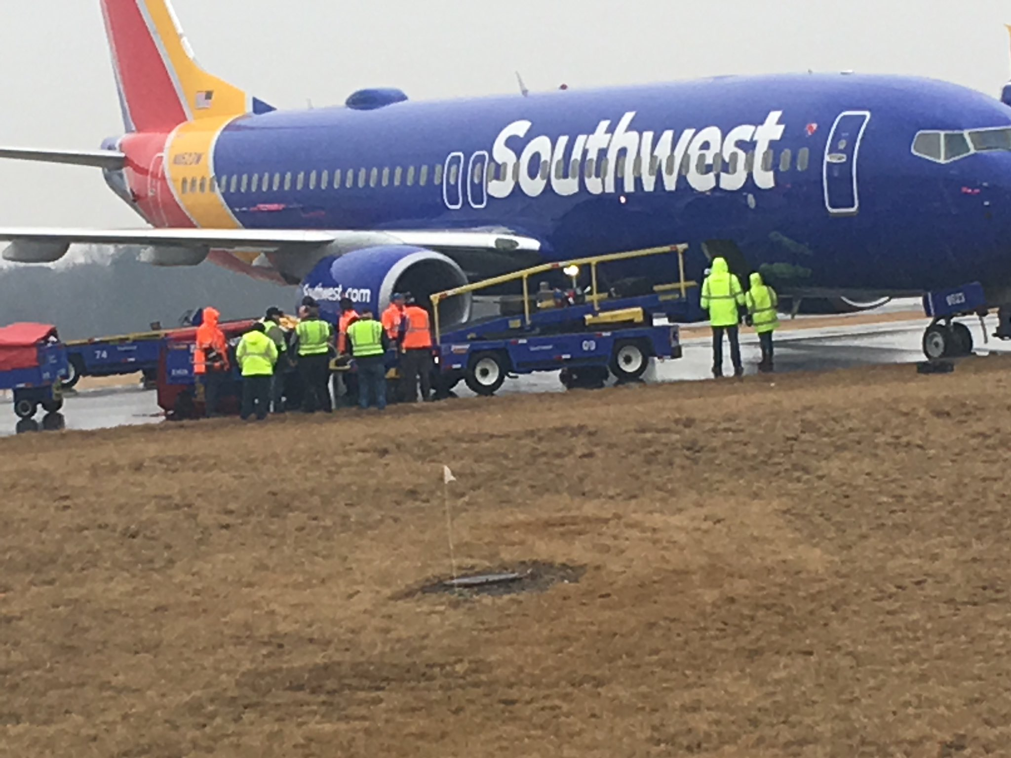 BREAKING NEWS: Plane Reportedly Skids at BWI