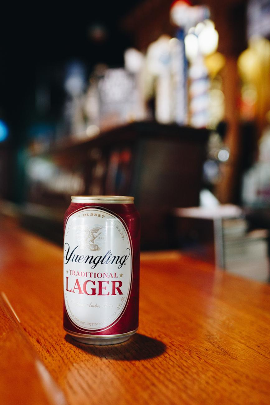 A cold can of Yuengling / Image: Catherine Viox // Published: 10.2.18