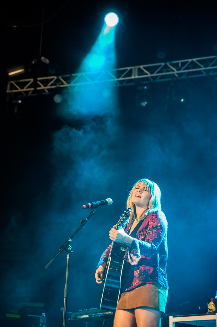 Grace Potter performed between acts on July 15, 2017. (Photo by Richie Downs, courtesy of Merriwether Post Pavilion)