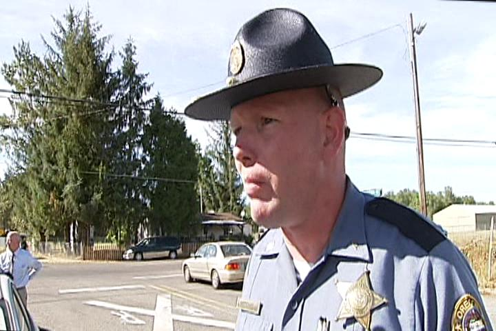 Lt. Steve Mitchell said the shooting happened around 1:20 p.m. as a Springfield Area Command trooper attempted to contact a person in stolen vehicle on Highway 99 near England Road. (SBG)Thumbnail