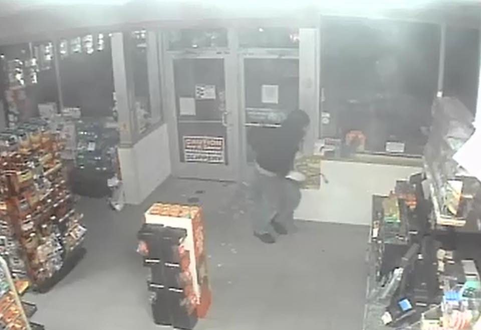 The Lake County Sheriff's Office is looking for a suspect in a Baldwin gas station break-in.