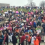 Women march descends over Roanoke