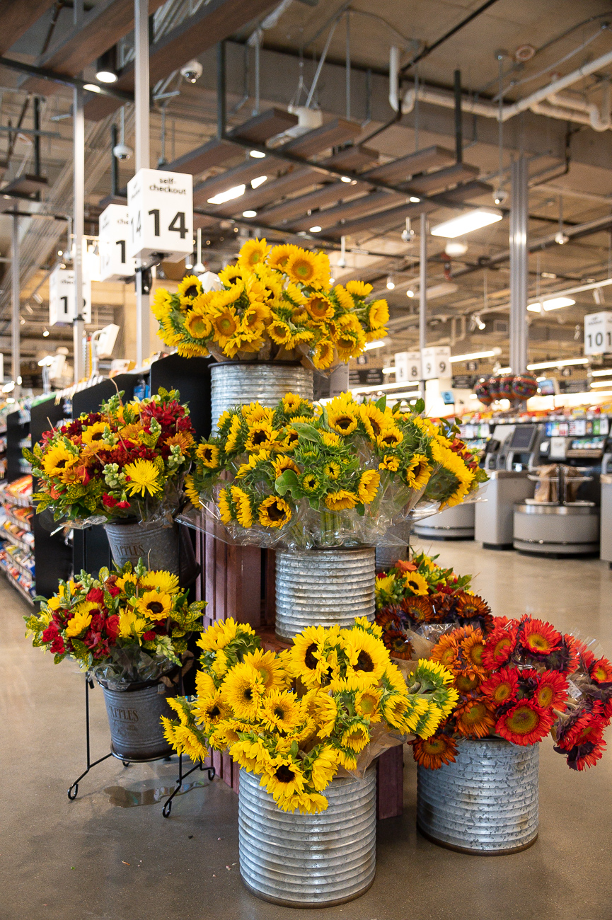 In addition to groceries, customers can pick up their HBC items and flowers. / Image: Phil Armstrong, Cincinnati Refined // Published: 9.24.19