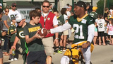 Packers Training Camp opens to fans' delight