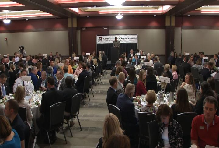 The Springfield Chamber of Commerce hosted its annual Business Connections at the Prairie Capital Convention Center on Thursday. (WRSP)