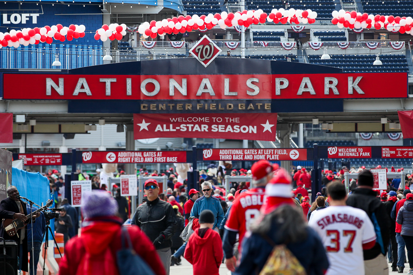 Baseball season starts next week and you can expect plenty of positive changes at Nats Park, including revamped food options, plenty of environmental initiatives and tons of community activities. (Amanda Andrade-Rhoades/DC Refined)