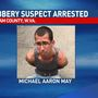 Putnam County robbery suspect arrested after pursuit in Wayne County