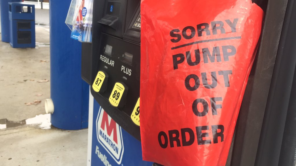 Multiple gas stations around North Central Florida have run out of gas temporarily.