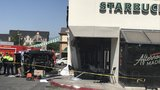 One dead, five hospitalized after vehicle crashes into Utah Starbucks
