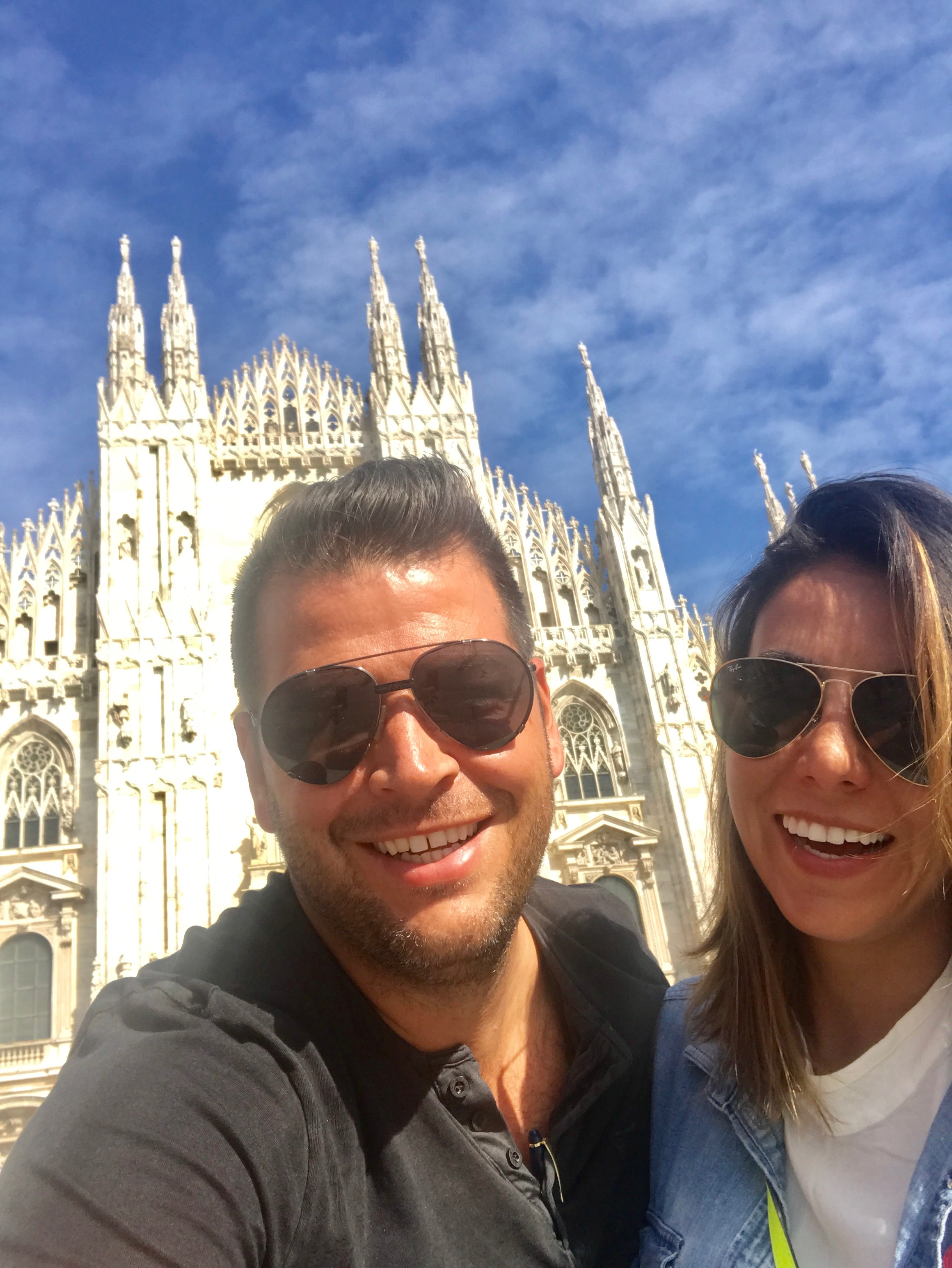 Chef Nicholas Stefanelli and his wife Romie recently took a trip to Italy with some show-stopping meals! (Image: Courtesy Nicholas Stefanelli)