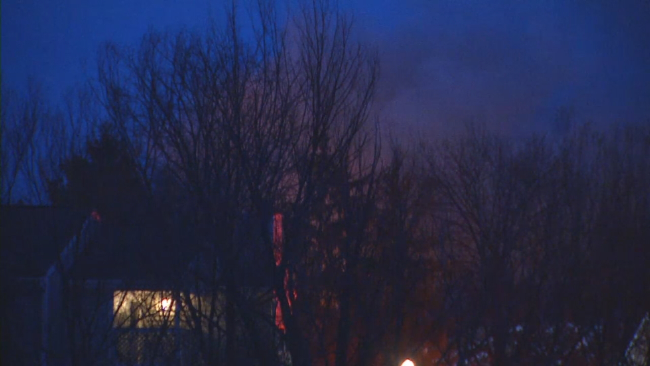 A fire at the Villas at Little Turtle damaged at least six units. (WSYX/WTTE)