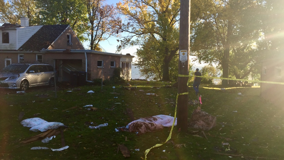 Residents Deal With The Aftermath Of Home Explosion