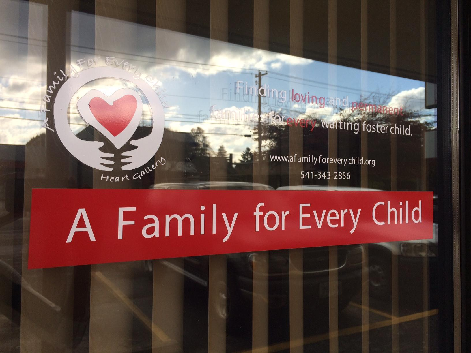 Right now in Oregon, there are roughly 10,000 foster kids waiting for a permanent home - and 1,000 foster kids in Lane County alone. (SBG)