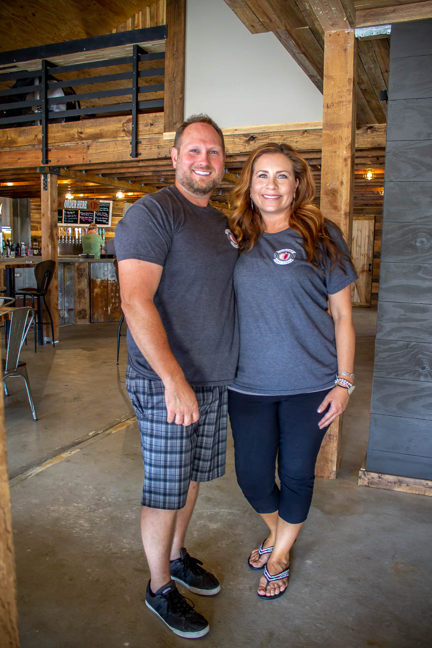 Owners and married couple, Jason & Michelle Vaughan{ }/ Image: Katie Robinson, Cincinnati Refined // Published: 7.22.19