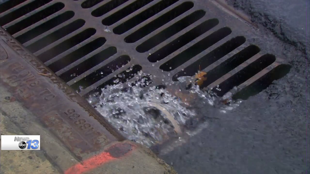 The City of Asheville's Stormwater Services Department has approved a 5 percent increase in fees for 2018 after already charging 5 percent more this year.  The Stormwater Services Department is entirely funded by the fees it collects, and it recently spent $120,000 on a device that can get into small pipes.  (Photo credit: WLOS Staff)