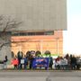 Pro-life group protests in front of ProMedica downtown