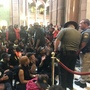 Officials say protesters staged removal from Illinois Capitol