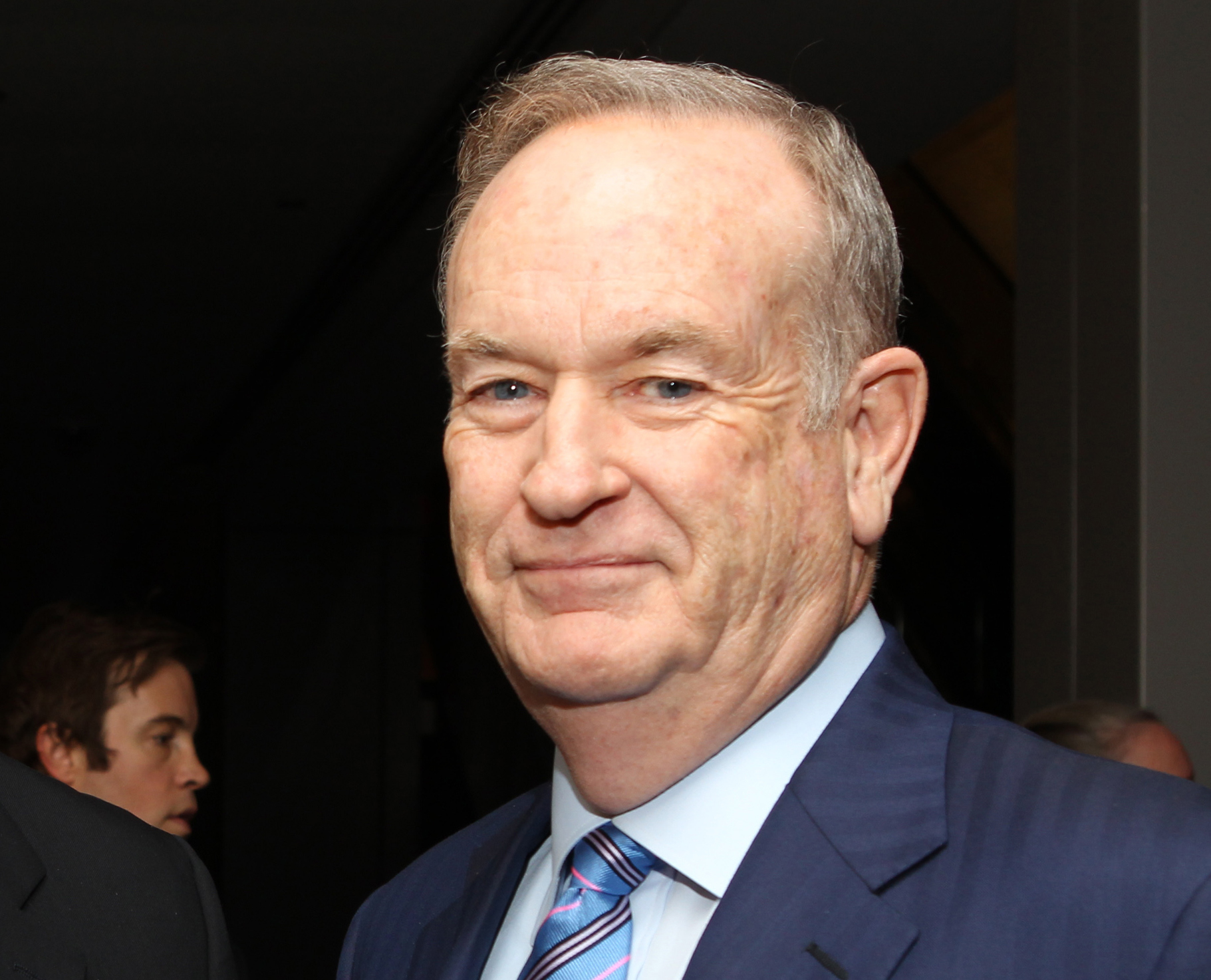 "FILE - In this Oct. 28, 2013 file photo, political commentator Bill O'Reilly attends the National Geographic Channel's ""Killing Kennedy"" world premiere screening reception at The Newseum, in Washington. (Photo by Paul Morigi/Invision/AP, File)"