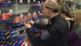 Mishawaka police Christmas shop with local families