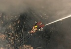 Building destroyed by flames in Northeast Portland - Chopper 2 image 5.jpg