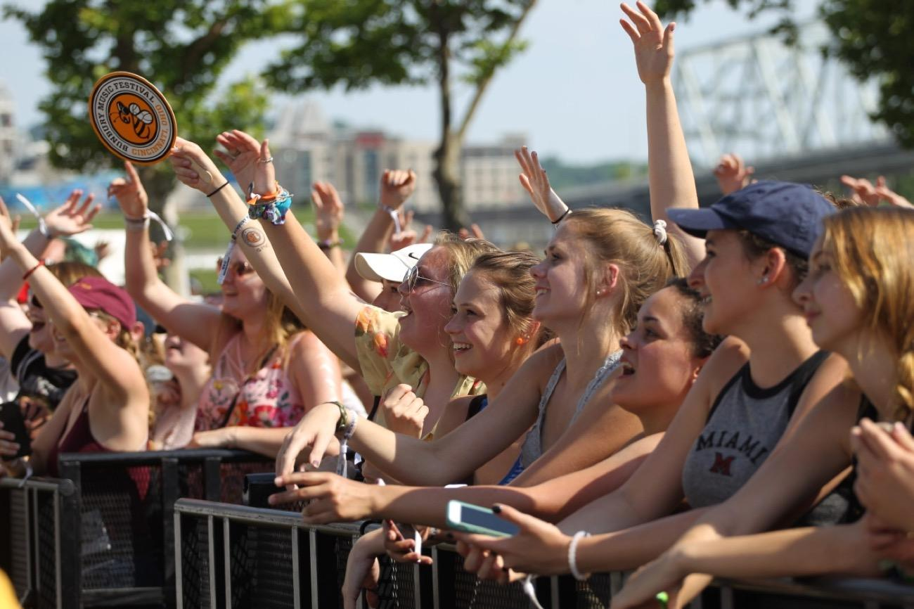 Bunbury Festival is back on the banks of the Ohio River June 1-3, and it's better than ever thanks to headliners Jack White, Blink-182, The Chainsmokers, and Incubus. Make sure not to miss undercards GRiZ, Misterwives, Gang of Youths, and Cincinnati outfit Moonbeau. And, as always, stay hydrated! / Image: David Heasley