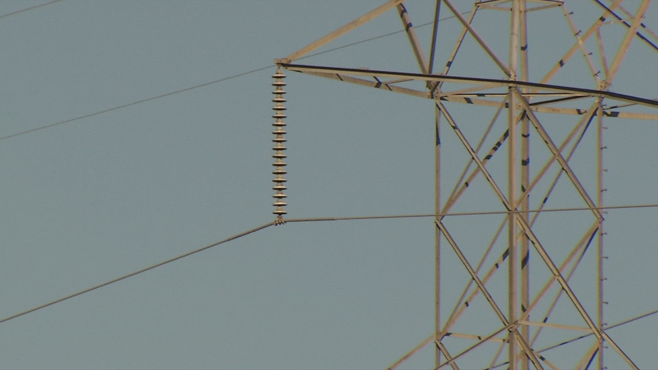 Extreme cold can make it harder for Duke Energy's equipment to work, officials said. (Photo credit: WLOS staff)