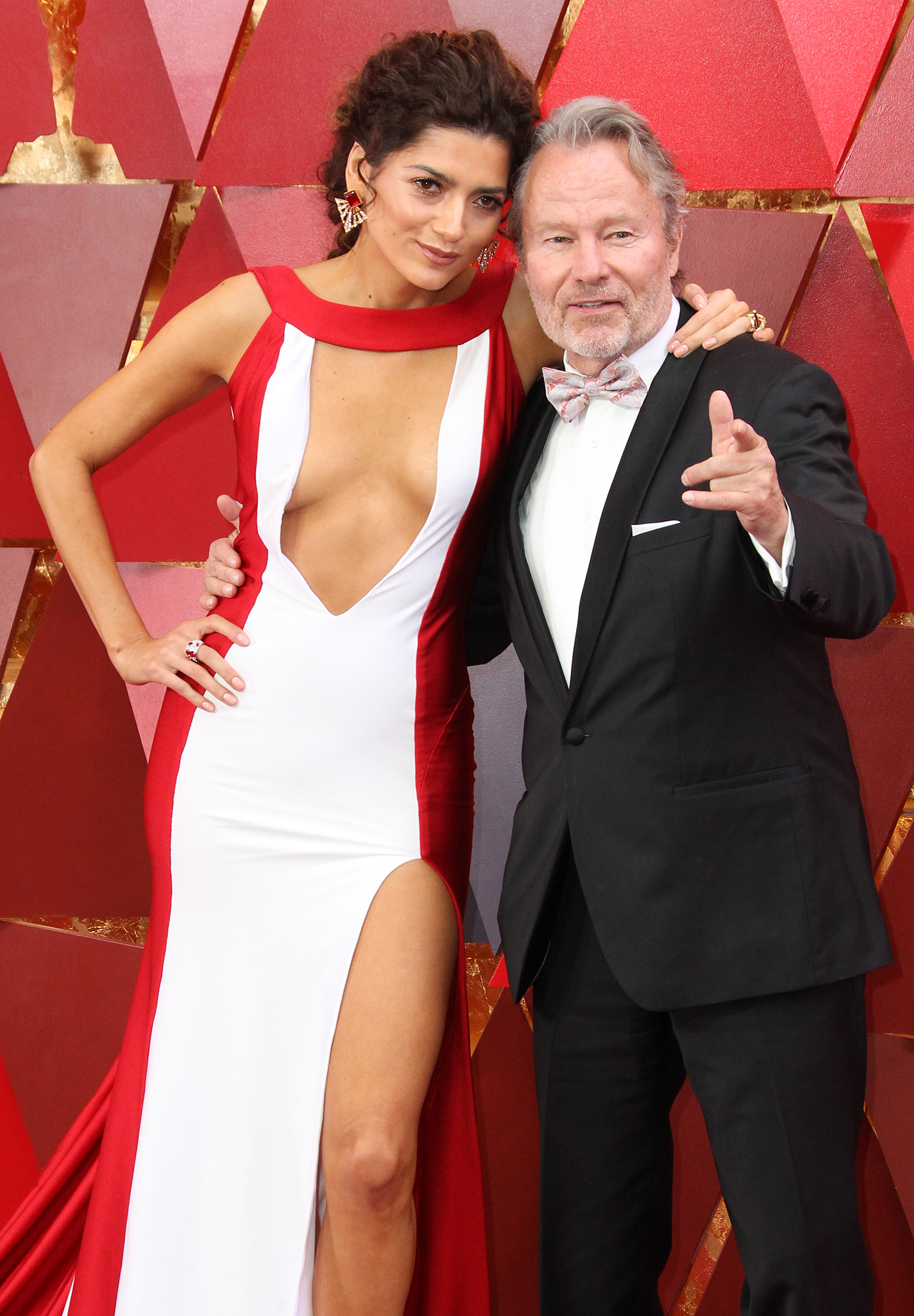 Blanca Blanco and John Savage{&amp;nbsp;}arrives at the 90th Annual Academy Awards (Oscars) held at the Dolby Theater in Hollywood, California. (Image: Adriana M. Barraza/WENN.com){&amp;nbsp;}<p></p>