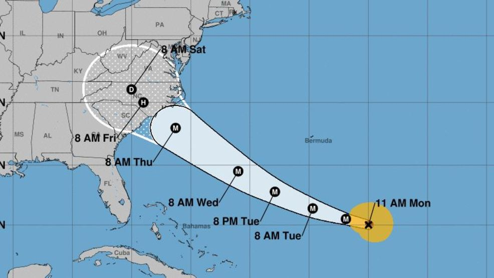 Updated Florence Approaches What You Need To Know Now In Wnc Wlos
