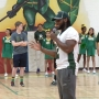NFL draft hopeful, former UTEP running back Aaron Jones visits former middle school