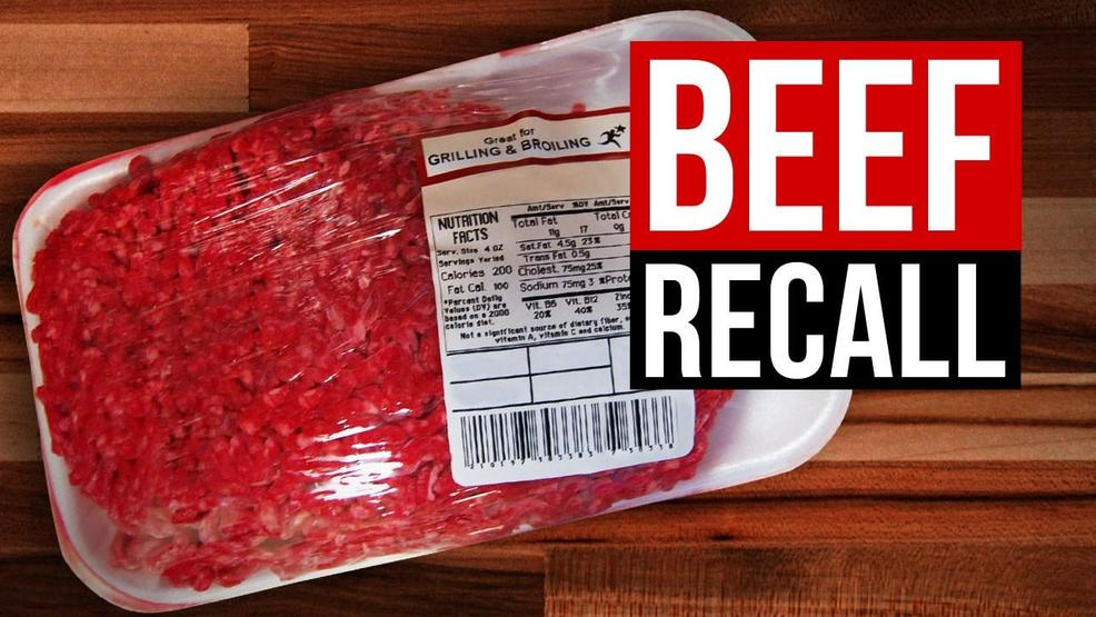 FDA: Alabama company recalls raw beef and pork due to possible blood contamination